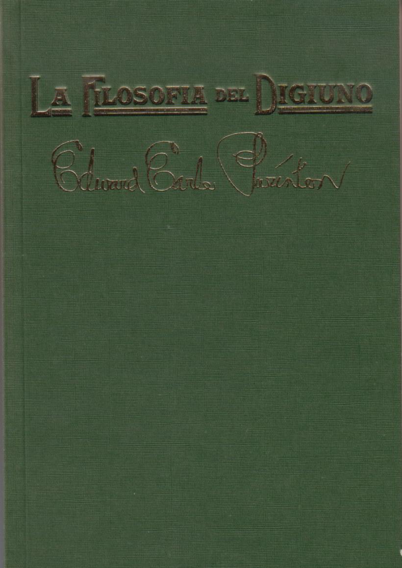 Prefazione del libro La Filosofia del Digiuno